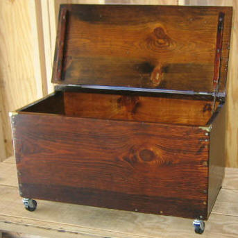 Free Fire Wood Box Plans - How To Build A Wood Box